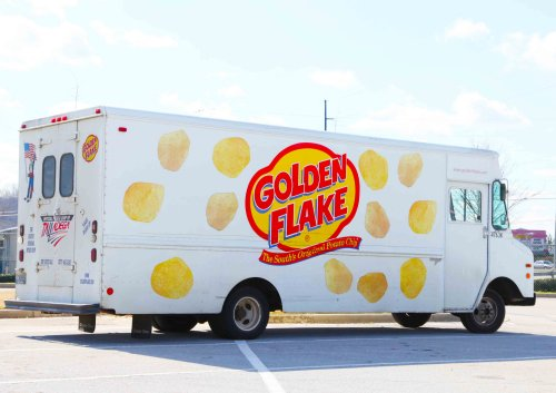 The Golden Flake Truck