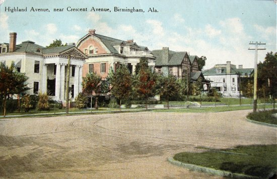 View of Highland Avenue, near Crescent Avenue