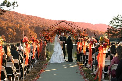 Birmingham weddings birmingham lights exchange of vows in the backdrop of fall colors junglespirit Gallery